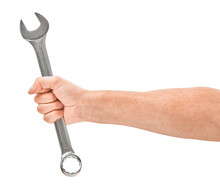 Mechanic Hand Hold Spanner Too...