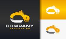 Excavator Letter B Logo