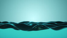 A Beautiful Water Surface Move...