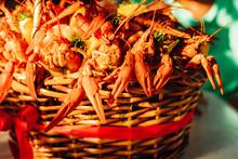 Festive Woven Gift Basket For ...