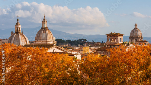 Rome autumn skyline Canvas-taulu