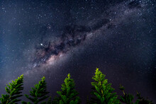 The Milky Way With Norfolk Isl...