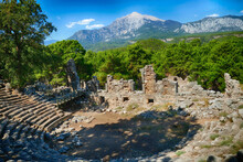Roman Theater Built Into The H...