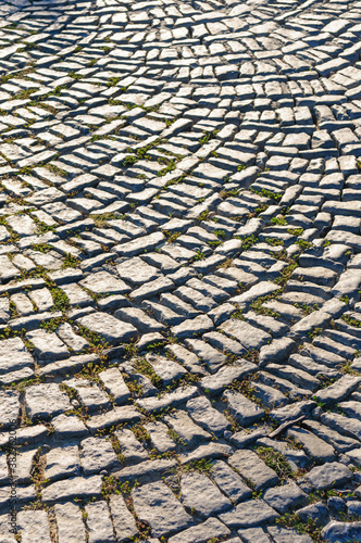 Fotografía cobblestones on a road int eh austrian region wachau
