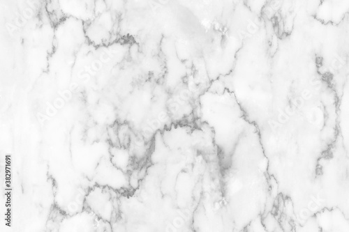 Fotografie, Obraz White marble texture background pattern with high resolution.