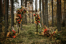 Juicy Multicolored Autumn Wedd...