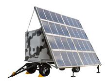 Mobile Van Station Solar Power...
