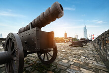 The Ancient Cannon Is On The W...