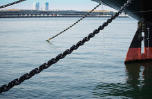 Chain Of The Mooring Of The Sh...