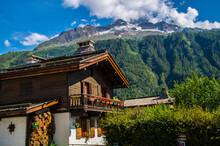 Argentiere In Haute Savoie In France
