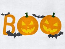 Boo - Halloween Jack O Lantern...