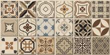 Colourful Vintage Ceramic Tile...
