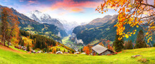 Scenic Autumn View Of Pictures...