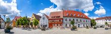 Marktplatz, Hoechstadt, Bayern...