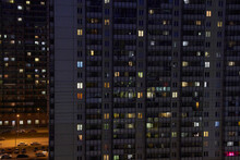 Night View From The High-rise ...