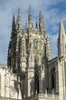 Detail of tower of the Cathedral in Gothic style, municipality and province of Burgos, autonomous community of Castile and Leon, Spain