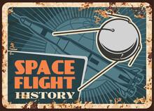 Space Flight History Vector Ru...