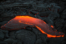Volcanic Lava Flow, Hawaii