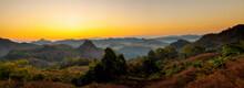 Panoramic View Of Beautiful Su...