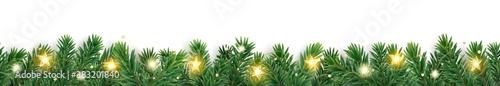 Fotografie, Obraz Seamless holiday decoration