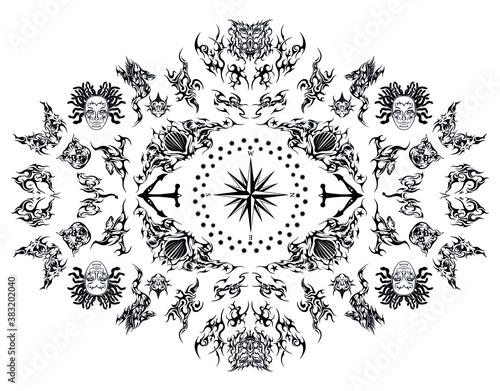 Платно wizard six sense spyglass eye supernatural symbol