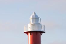 灯台と夕方