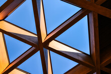 Roofing Construction. Wooden R...