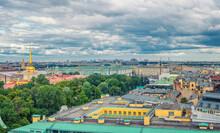 Top Aerial Panoramic View Of S...