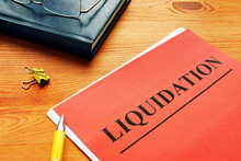 The Word Liquidation Is Printe...