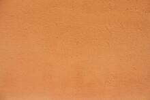Terra Cotta Color Wall Texture.
