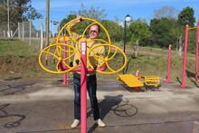 Man In Playground