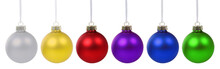 Christmas Balls Baubles Colorf...