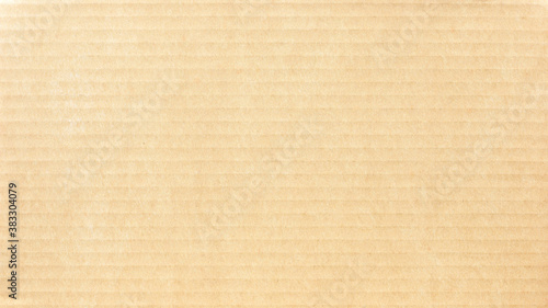 Foto Carton box package brown paper texture with lines