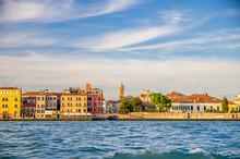 Embankment Of Fondamenta Zattere Ai Gesuati In Venice City Historical Centre