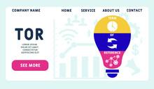 Vector Website Design Template...