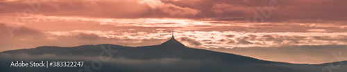 Fotografie, Obraz Jested ridge evening panorama
