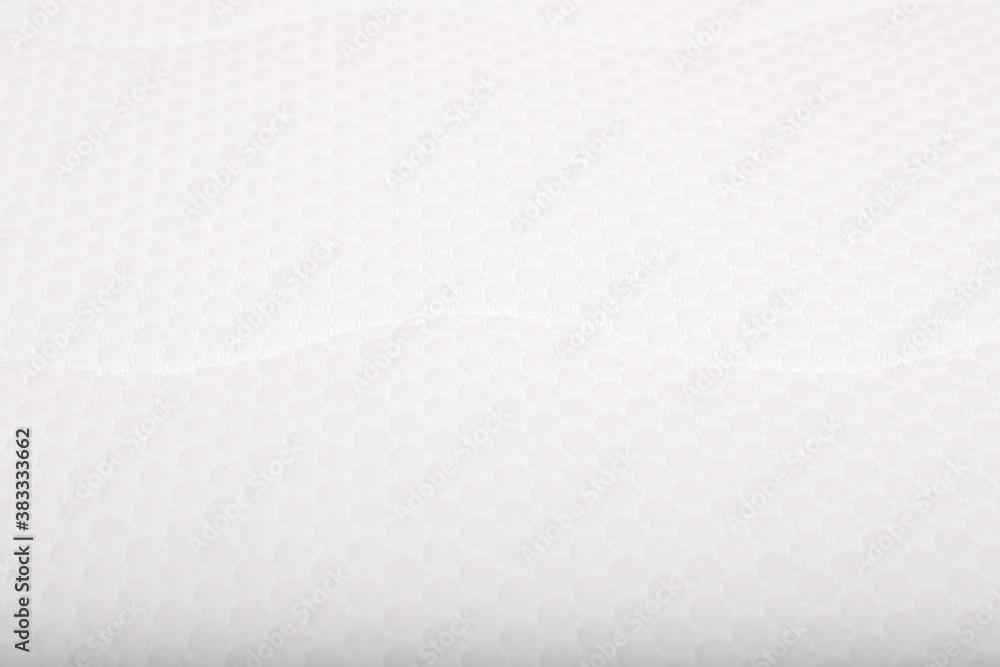 Fototapeta Modern comfortable orthopedic mattress as background, closeup