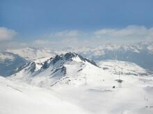 Skiing Area In The Silvretta M...