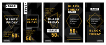 Black Friday Sale Banner Set. ...