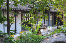 Сozy Chinese Garden With A Pa...