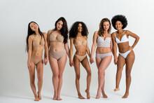 Beautiful Women Posing In Underwear