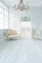 Luxury Rich Living Room Interi...