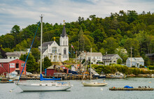 Boothbay Harbor, A Maine Coastal Village