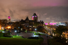 Chateau Frontenac In Quebec Ci...