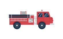 Red Cartoon Firetruck From Sid...