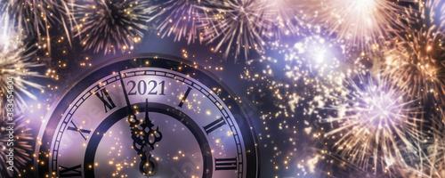 Fototapety fioletowe  feuerwerk-2021