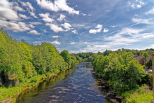 The River Tees Near Barnard Ca...