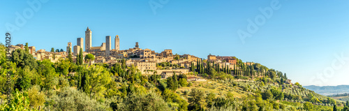 Panoramic view at the Town of San Gimignano - Italy