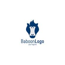 Baboon Monkey Logo