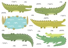 Funny Crocodiles Collection. C...